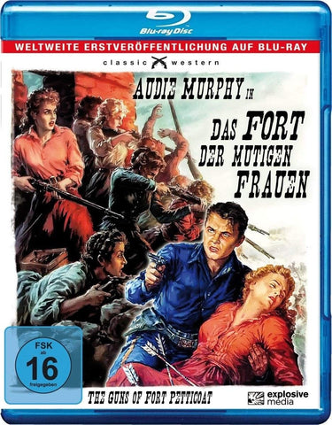 The Guns Of Fort Petticoat (1957) - Audie Murphy Blu-ray