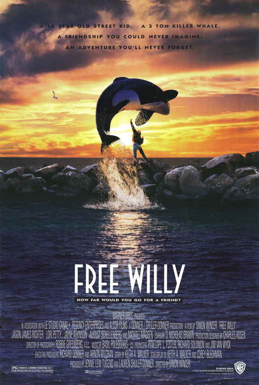 Free Willy (1993)  DVD