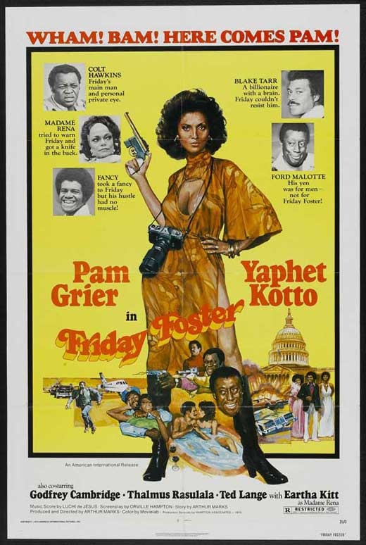 Friday Foster (1975) - Pam Grier  DVD