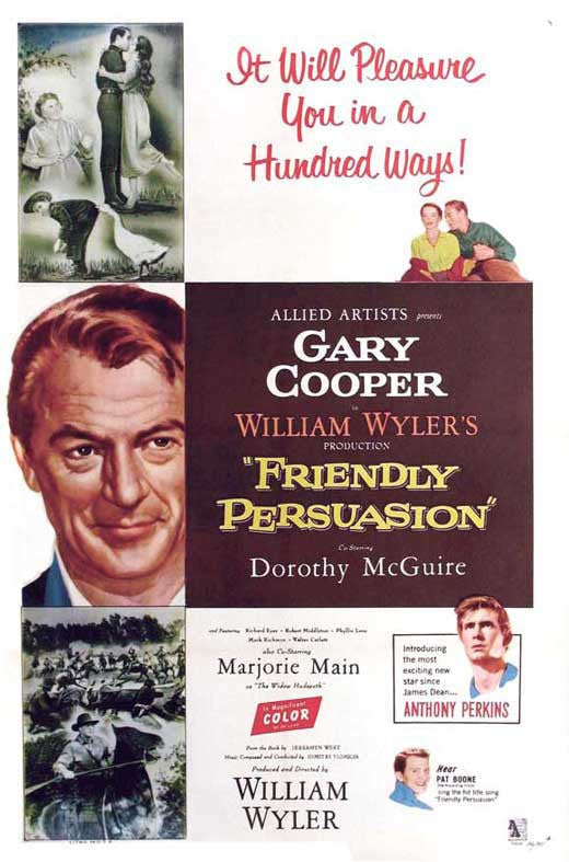 Friendly Persuasion (1956) - Gary Cooper  DVD