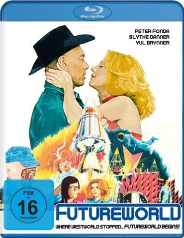 Futureworld (1976) - Yul Brynner  Blu-ray