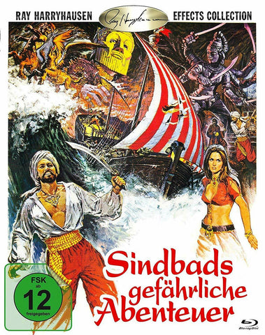 The Golden Voyage Of Sinbad (1973) - John Philip Law  Blu-ray