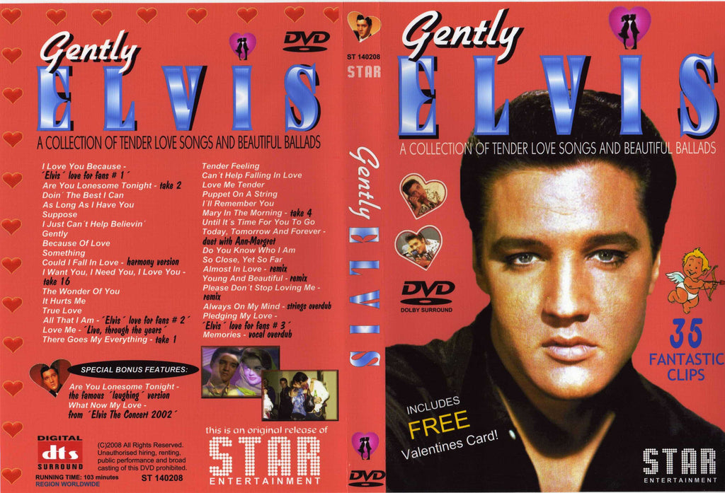 Elvis - Gently  DVD