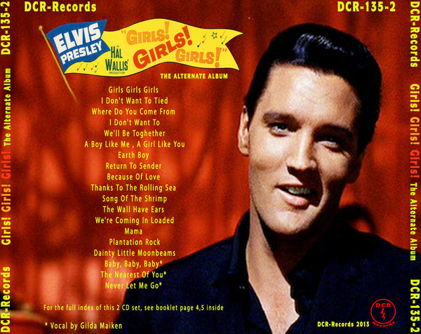 Elvis - Girls ! Girls ! Girls ! - The Alternate Album (2 CD Set)
