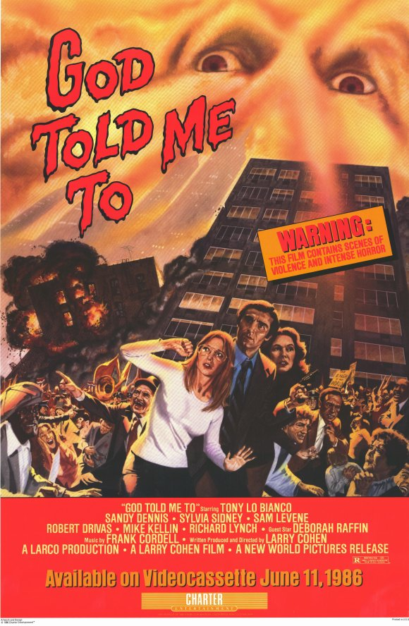 God Told Me To (1976) - Tony Lo Bianco  DVD