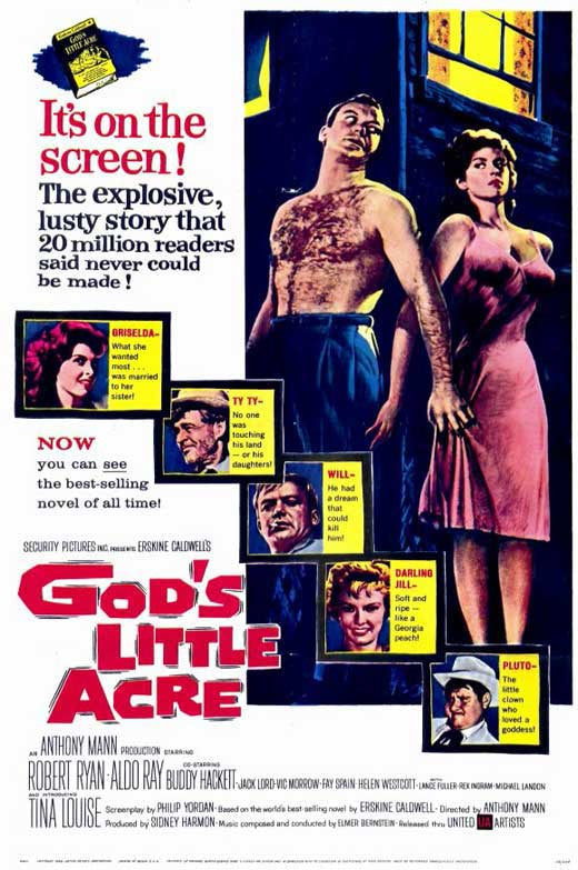 God´s Little Acre (1958) - Michael Landon  DVD