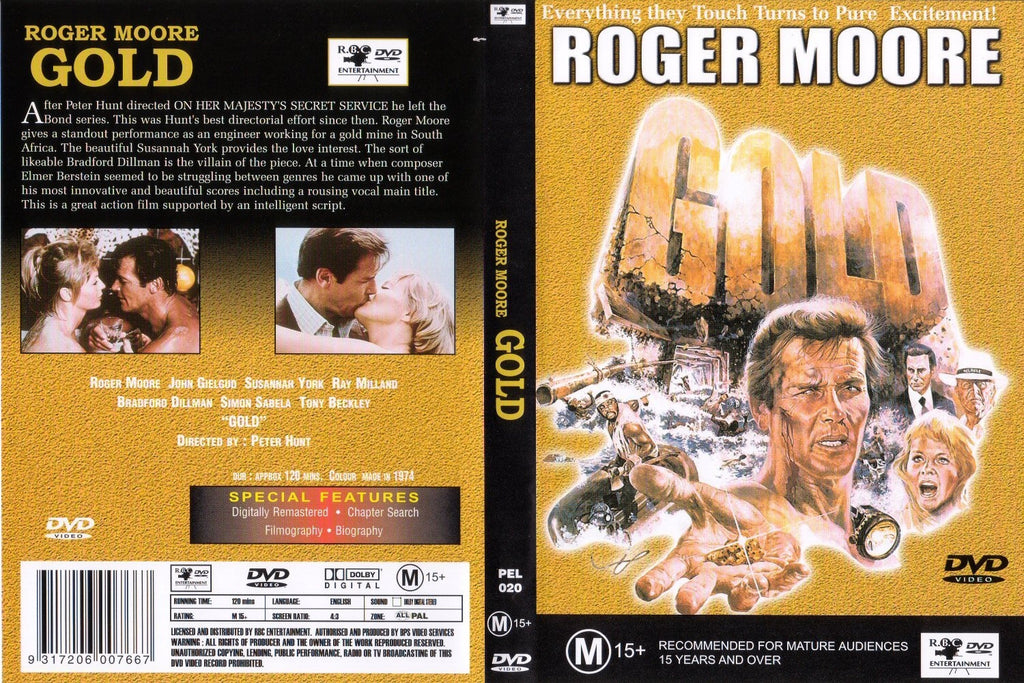 Gold (1974) - Roger Moore  DVD
