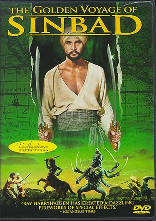 The Golden Voyage Of Sinbad (1973) - John Philip Law  DVD