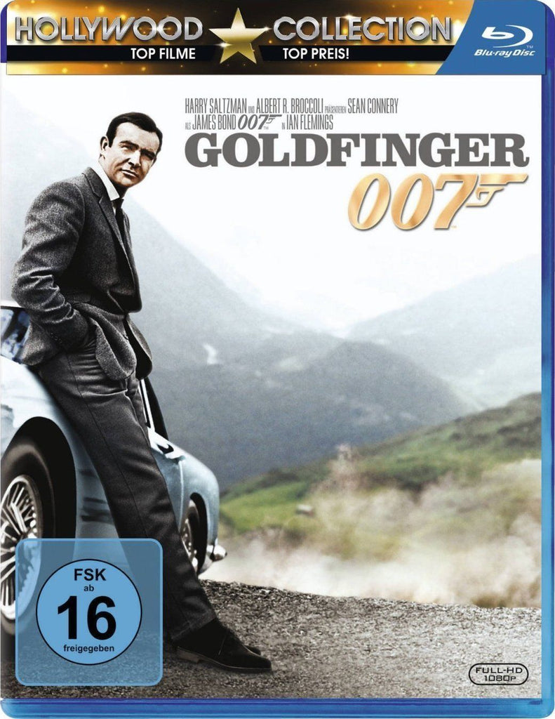 James Bond 007 : Goldfinger (1964) - Sean Connery  Blu-ray