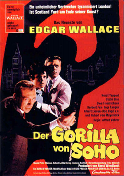 Edgar Wallace : Gorilla Gang (1968)  DVD