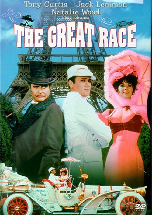 The Great Race (1965) - Tony Curtis  DVD