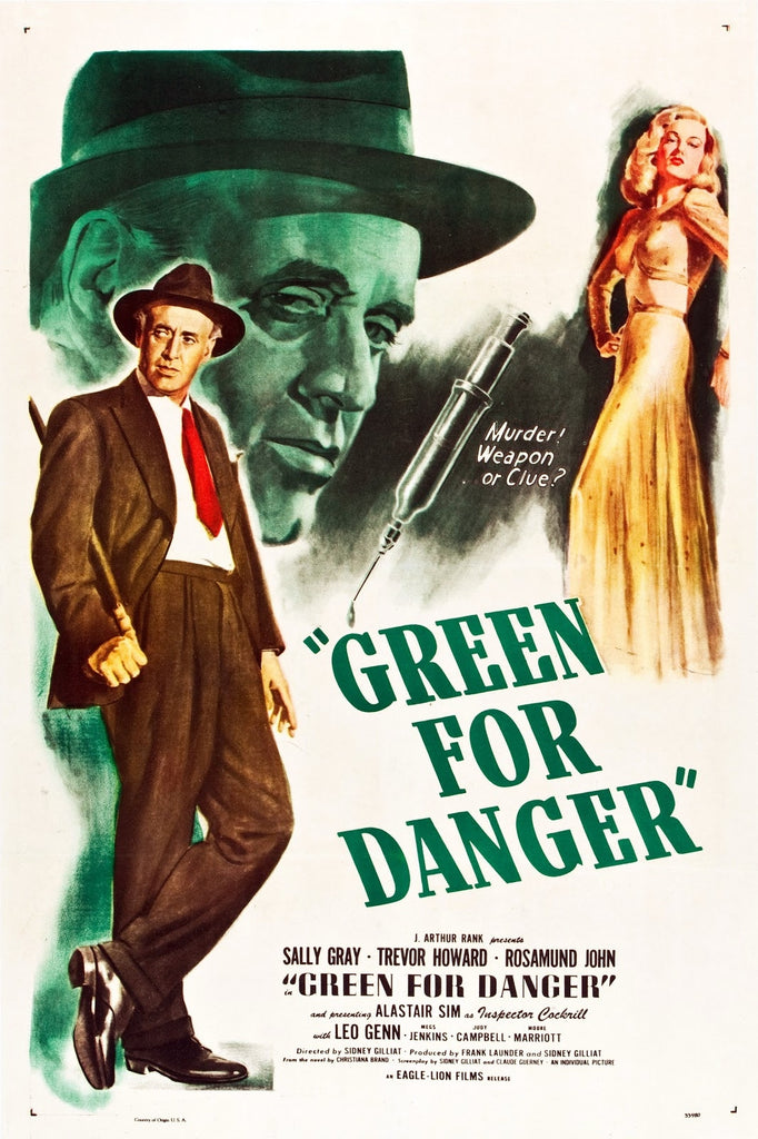 Green For Danger (1946) - Trevor Howard  DVD
