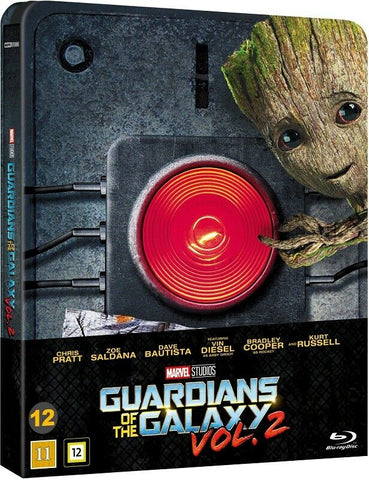 Guardians of the Galaxy Vol 2 (2017) - Chris Pratt  Steelbook Blu Ray