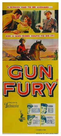 Gun Fury (1953) - Rock Hudson  DVD