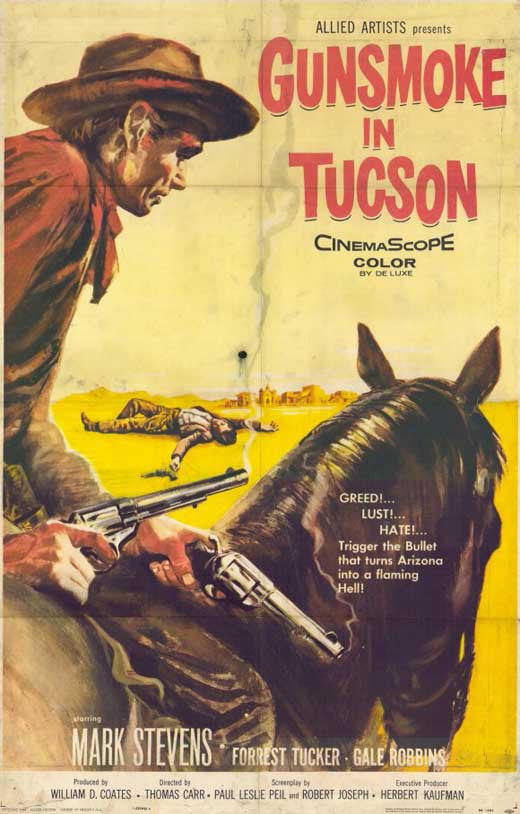 Gunsmoke In Tucson (1958) - Mark Stevens  DVD