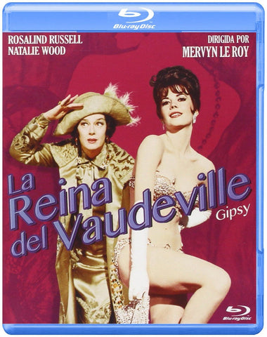 Gypsy (1962) - Natalie Wood  Blu-ray