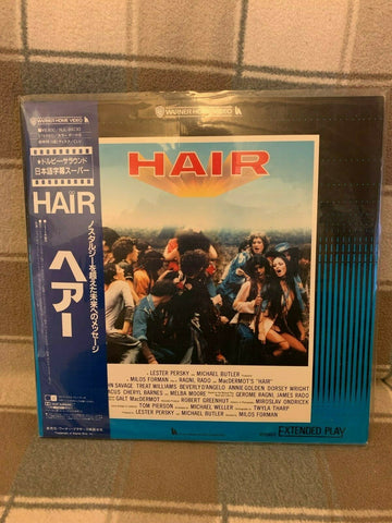 Hair (1979) - John Savage Japan 2 LD Laserdisc Set with OBI