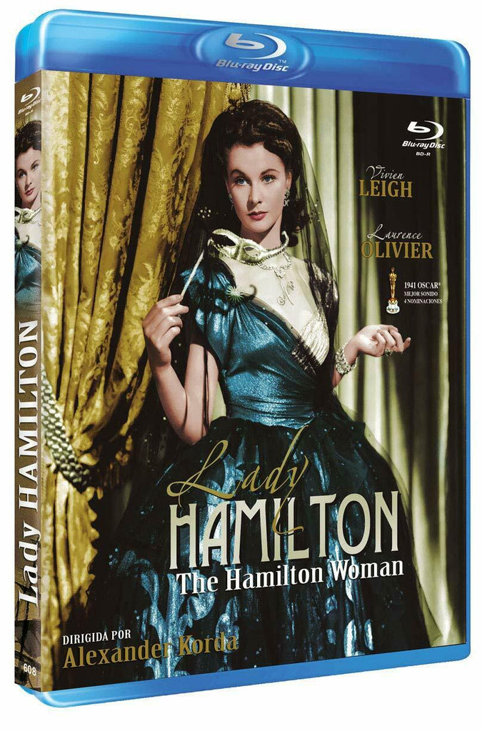That Hamilton Woman (1941) - Viven Leigh  Blu-ray  codefree