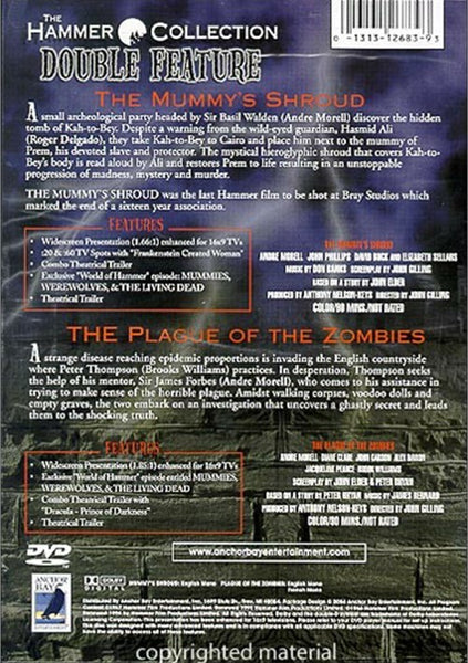 The Mummy´s Shroud / Plague Of The Zombies - Hammer Coll. Double Feature (2 DVDs)