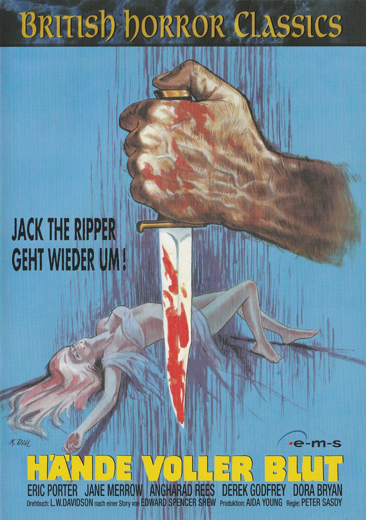 Hands Of The Ripper (1971)  DVD