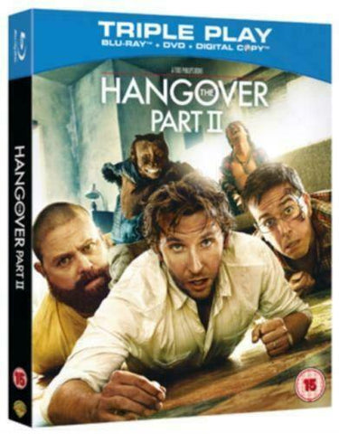 Hangover Part 2 (2011) - Bradley Cooper Blu-ray / DVD in Slipcase