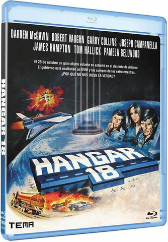 Hangar 18 (1980) - Robert Vaughn  Blu-ray