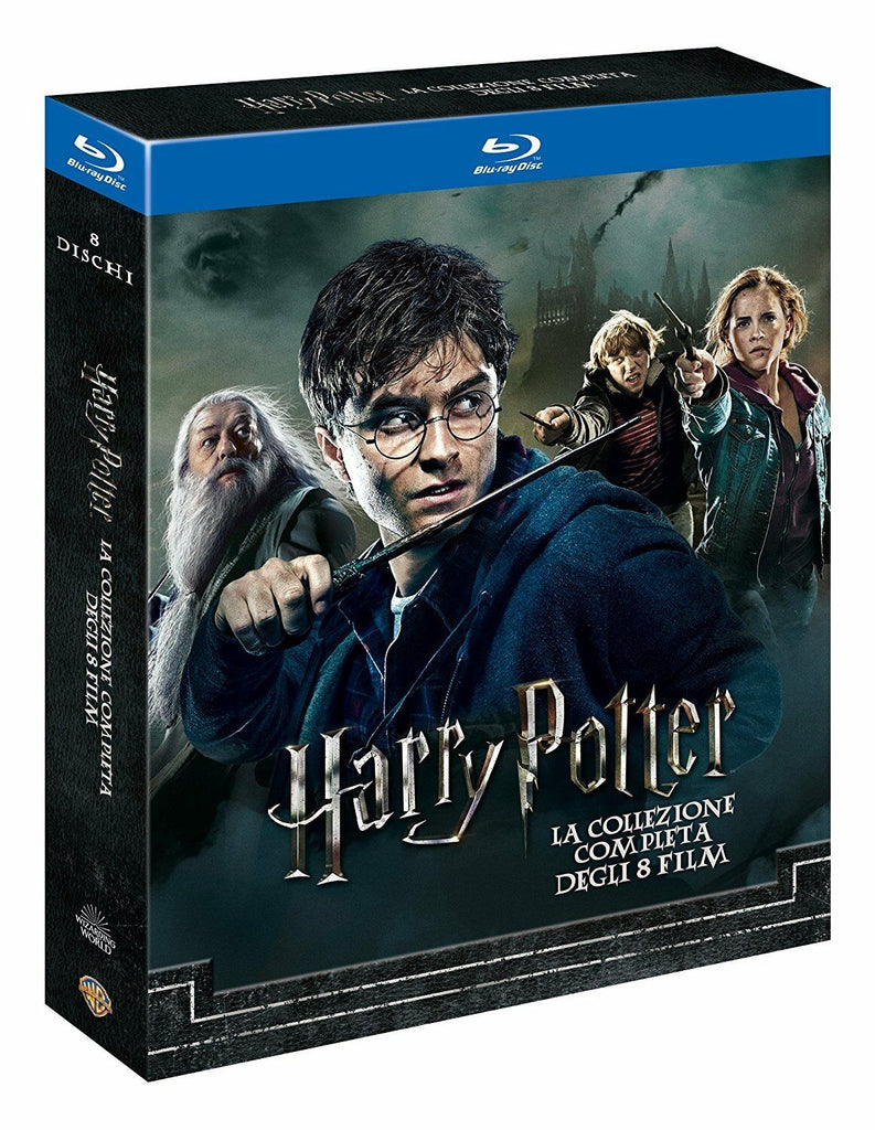 Harry Potter 1-8 - Complete Collection Blu-ray Box Set