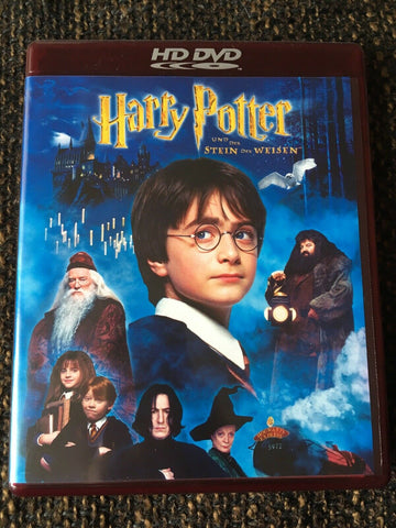 Harry Potter And The Sorcerer´s Stone (2001) - Daniel Radcliffe  HD DVD