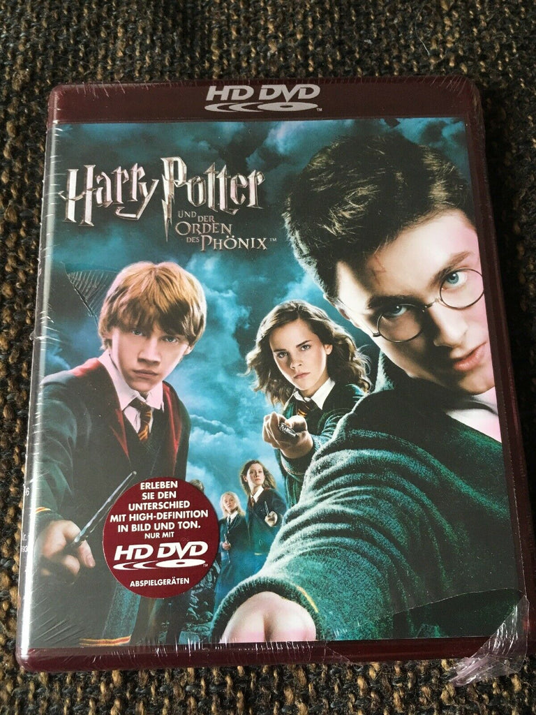 Harry Potter And The Order Of The Phoenix (2007) - Daniel Radcliffe  HD DVD