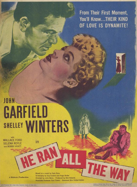 He Ran All The Way (1951) - John Garfield  DVD