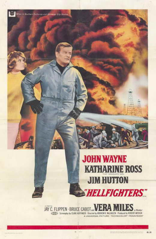 Hellfighters (1968) - John Wayne  DVD