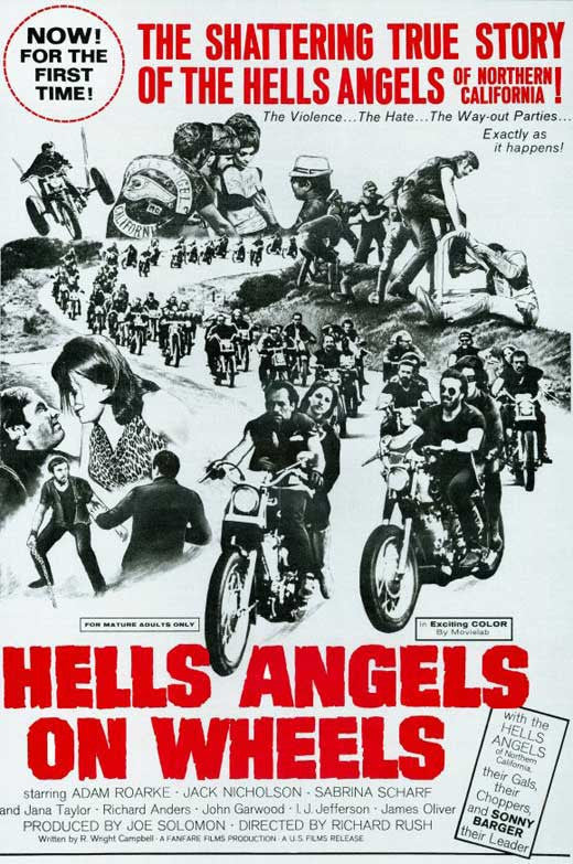 Hells Angels On Wheels (1967) - Jack Nicholson  DVD
