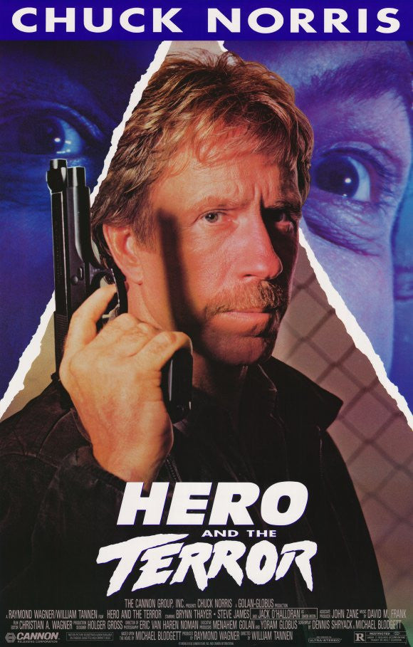 Hero And The Terror (1988) - Chuck Norris  DVD
