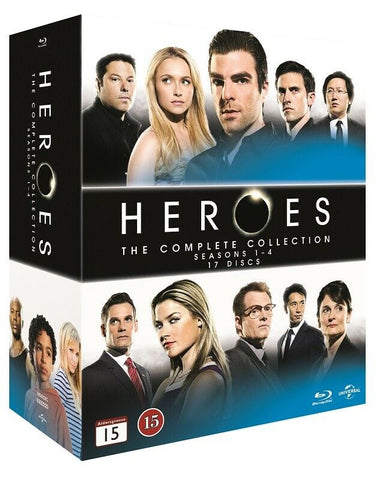 Heroes : The Complete Series  - Hayden Panettiere (17 Blu-ray Box)