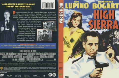 High Sierra (1941) - Color Version DVD