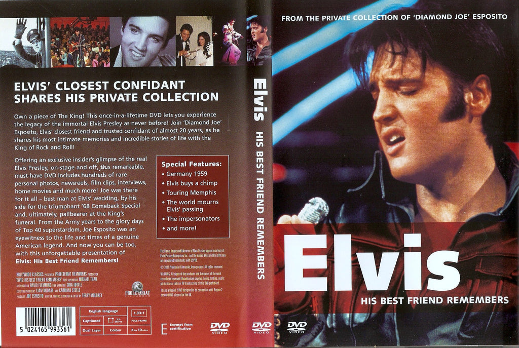 Elvis - The Last Days / Joe Esposito Home Movies DVD