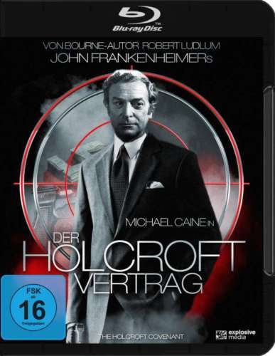 The Holcroft Covenant (1985) - Michael Caine  Blu-ray