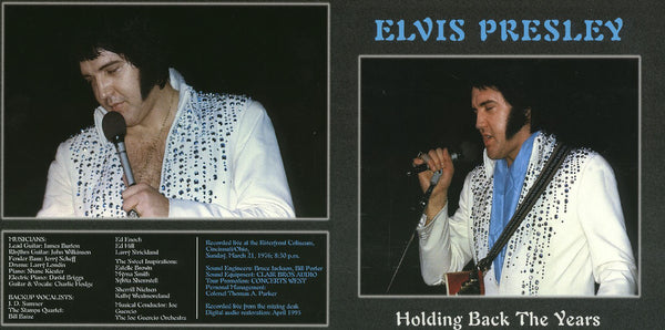 Elvis - Holding Back The Years (1976) - Live In Concert  CD
