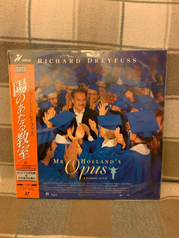 Mr. Holland´s Opus (1995) - Richard Dreyfuss  Japan 2 LD Laserdisc Set with OBI