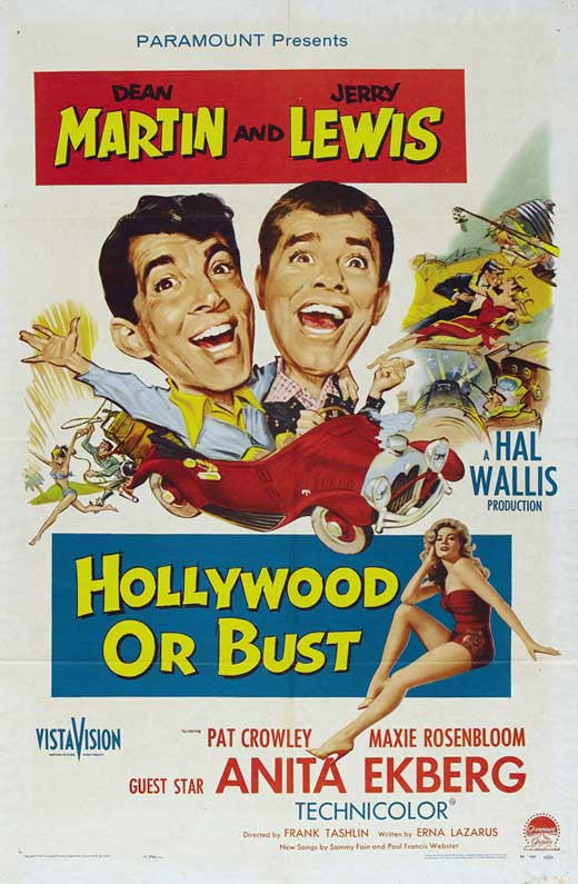 Hollywood Or Bust (1956)  DVD