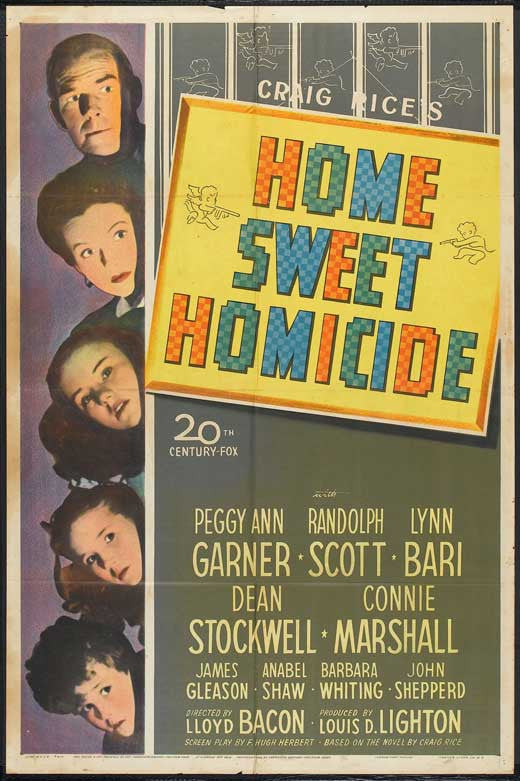 Home Sweet Homicide (1946)  DVD