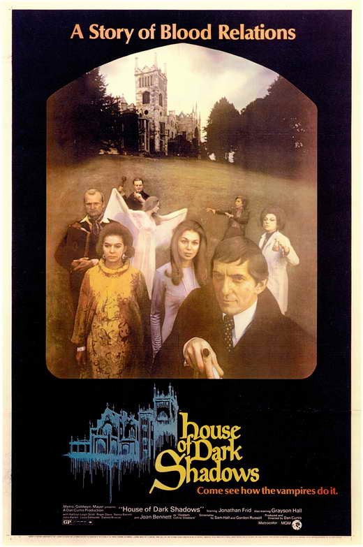 House Of Dark Shadows (1970)  DVD