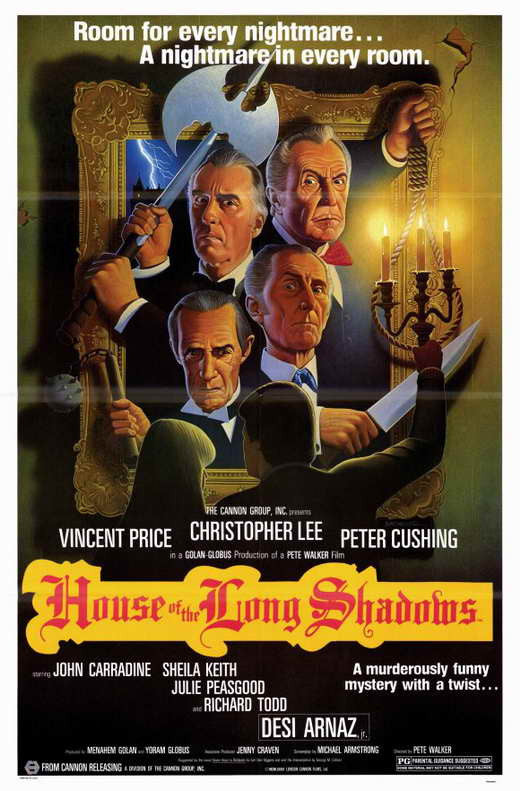 House Of The Long Shadows (1983) - Christopher Lee  DVD