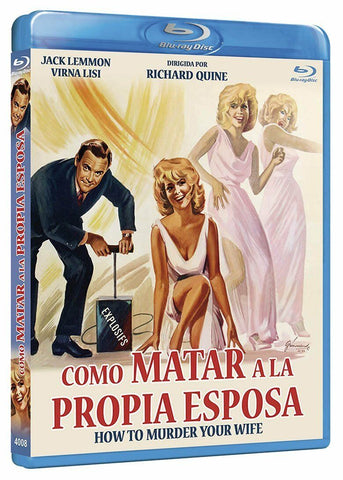 How To Murder Your Wife (1965) - Jack Lemmon  Blu-ray  codefree