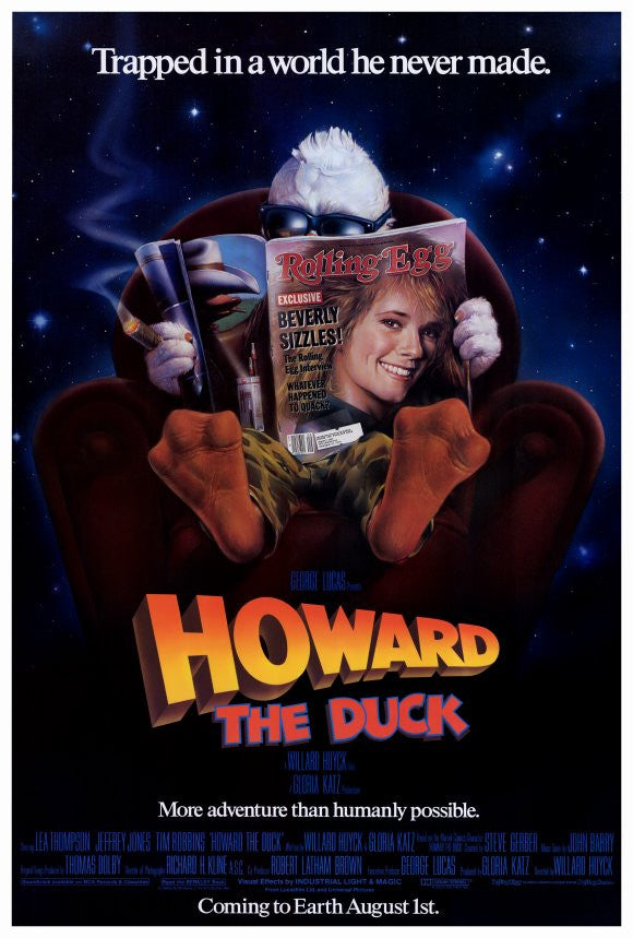Howard The Duck (1986)  DVD