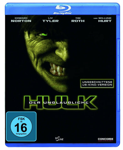 The Incredible Hulk (2008) - Edward Norton  Blu-ray