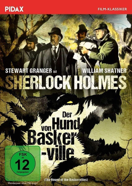 Sherlock Holmes : The Hound Of The Baskervilles (1972) - Stewart Granger  DVD