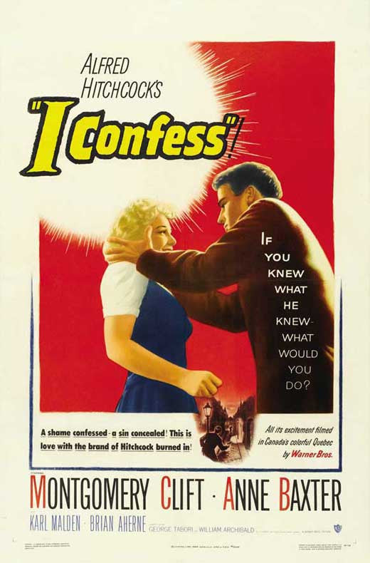 I Confess (1953) - Alfred Hitchcock  DVD
