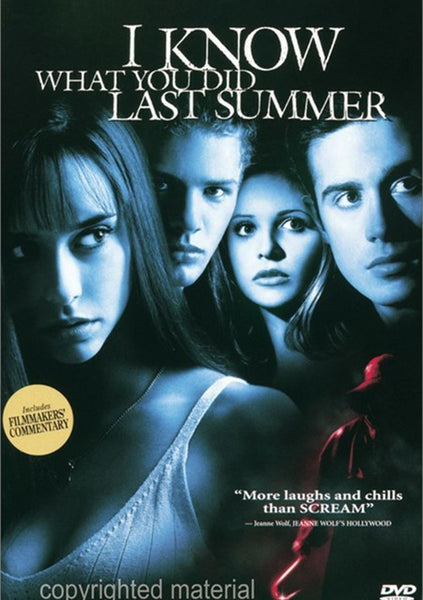 I Know What You Did Last Summer (1997) - Sarah Michelle Gellar  DVD