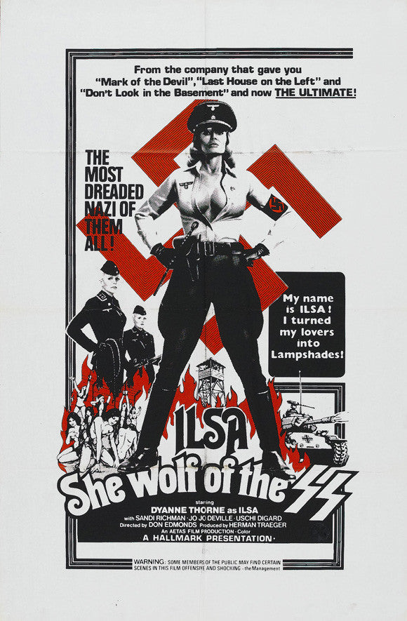 Ilsa - She Wolf Of The SS (1974)  DVD